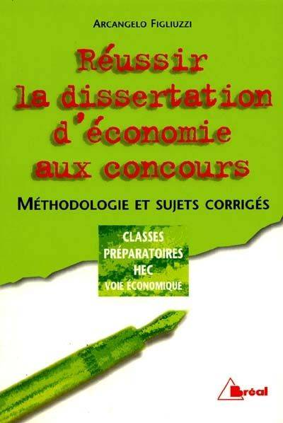 Corriges de dissertation economique