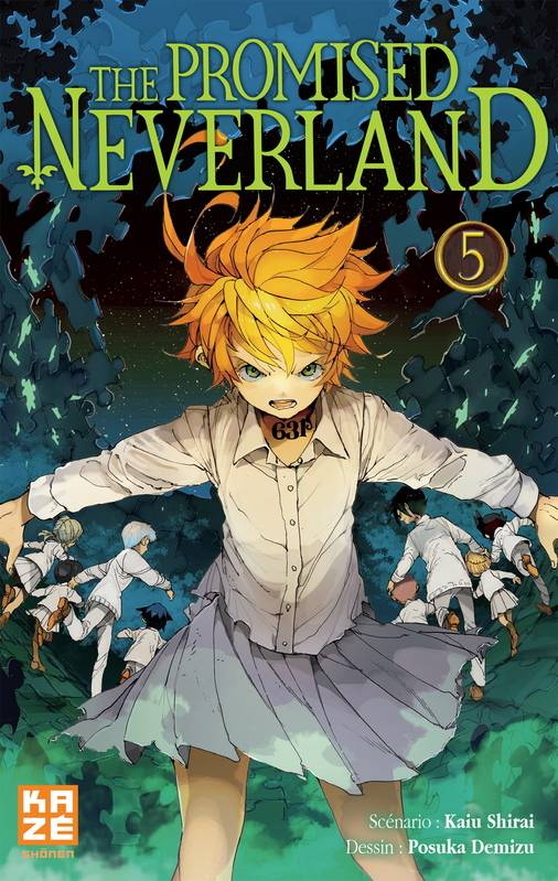 5, The Promised Neverland T05