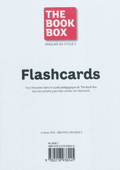 The Book Box - 64 Flashcards CP/CE1