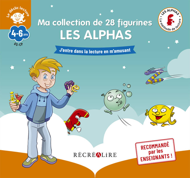 Ma collection de 28 figurines LES ALPHAS - Nouvelle édition