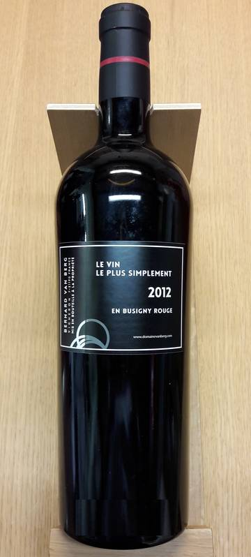 En Busigny Rouge Vin Bio 2012