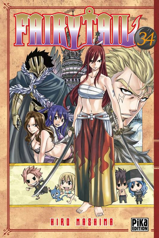 34, Fairy Tail T34