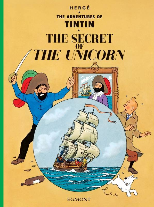 The Secret of the Unicorn, Livre broché