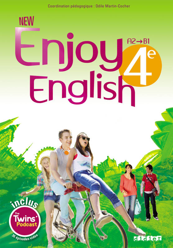 enjoy english in 6e workbook