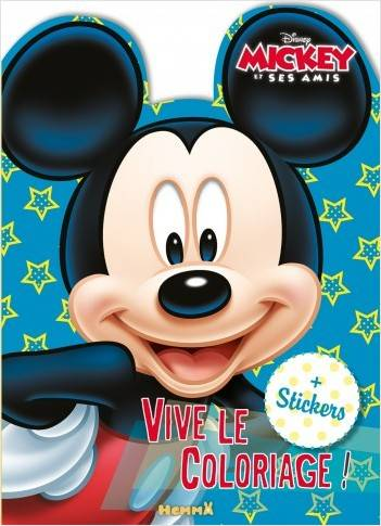 Mickey et ses amis / vive le coloriage ! : personnage Mickey