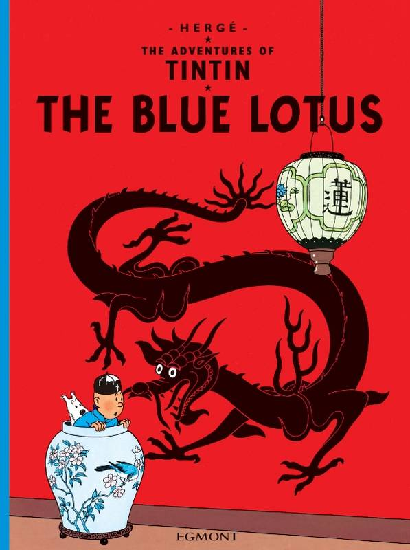 The adventures of Tintin 04 - the blue lotus, Livre broché