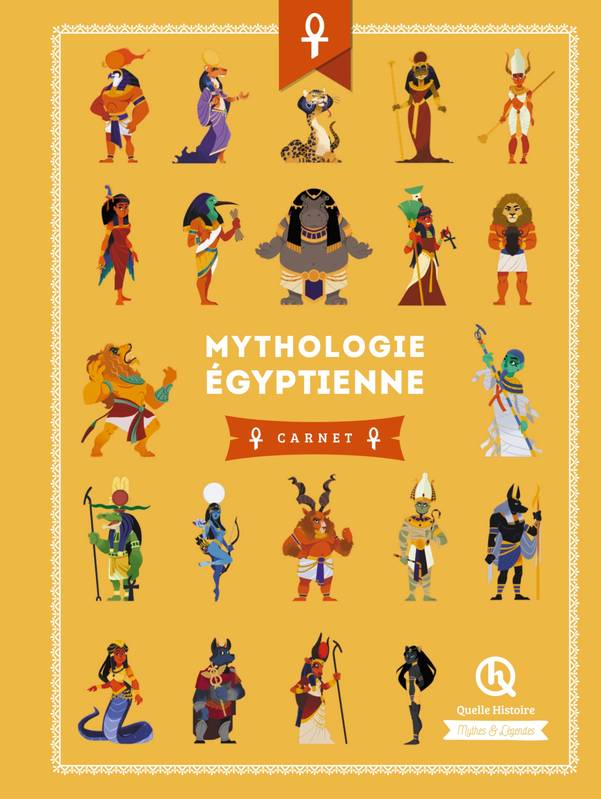Livre Mythologie Egyptienne Carnet Wennagel Ferret