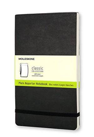 BLOC NOTES MOLESKINE NOIR BLC GF/.