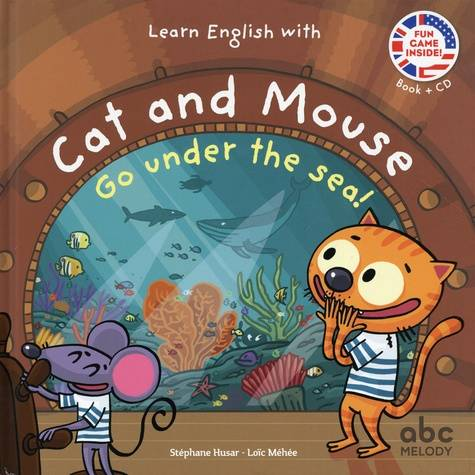 Learn english with cat and mouse - go under the sea