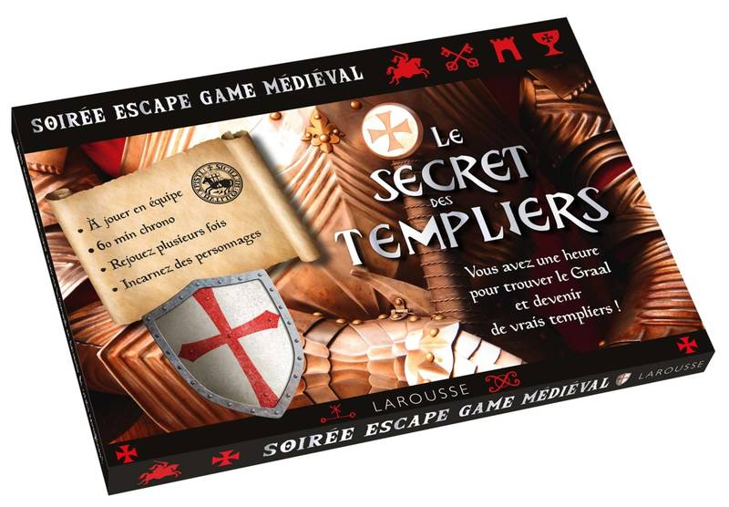Escape game Secrets des Templiers