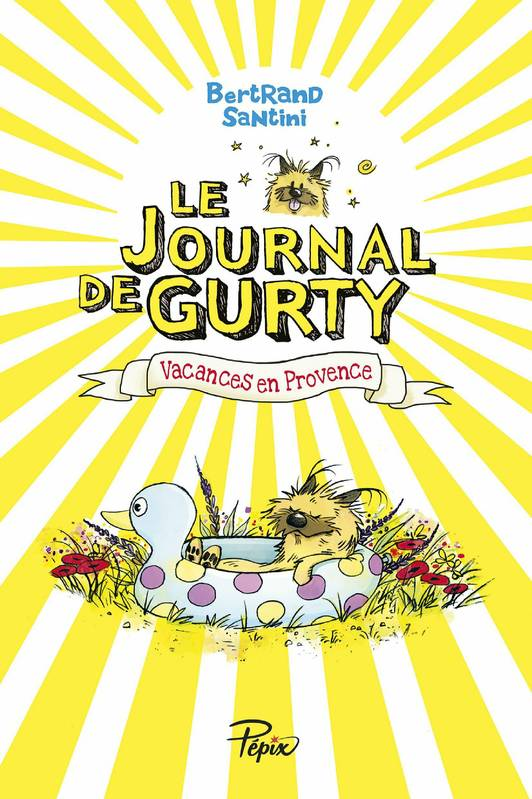 Le Journal de Gurty (Tome 1) – Vacances en Provence