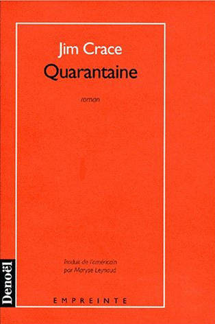 Quarantaine, roman
