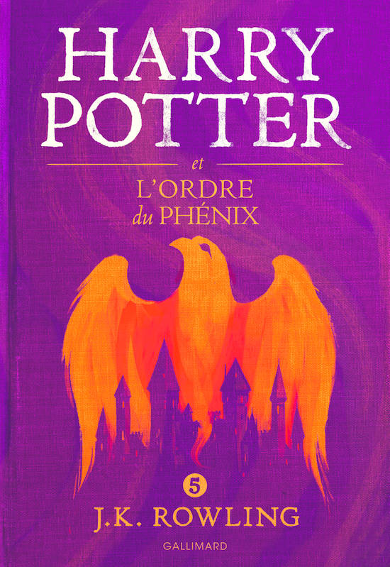 Livre Harry Potter V Harry Potter Et L Ordre Du Phenix