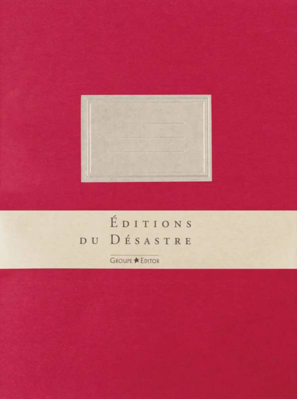 EDITOR TRADITION CARNET 19X25 ROUGE