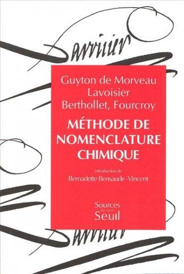 METHODE DE NOMENCLATURE CHIMIQUE