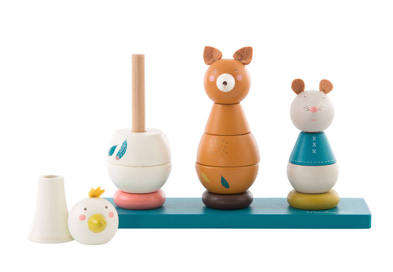 Empilable animaux,  Stack-up toy