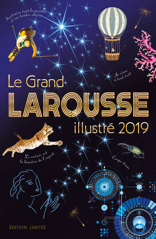 Le grand Larousse illustré 2019 noël