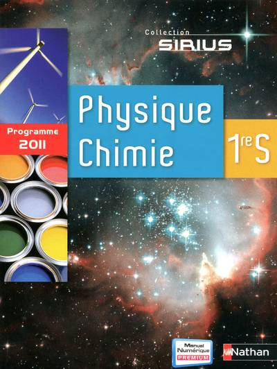 Physique-chimie 1re S / grand format 2011, programme 2011