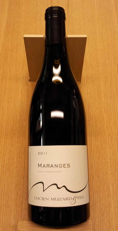 maranges vin bio 2011 vin rouge pinot noir bourgogne c te de beaune muzard lucien. Black Bedroom Furniture Sets. Home Design Ideas