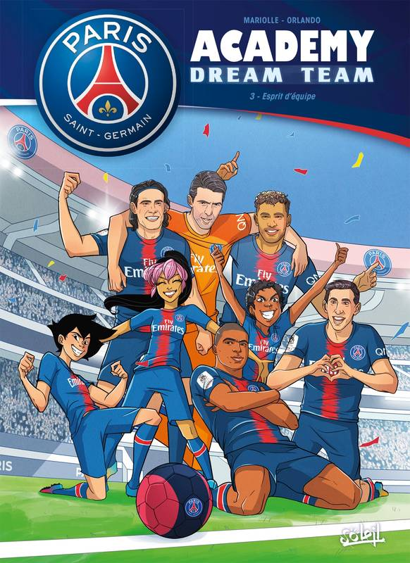 Paris Saint-Germain Academy Dream Team 03
