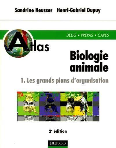 1, Les grands plans d'organisation, Biologie animale