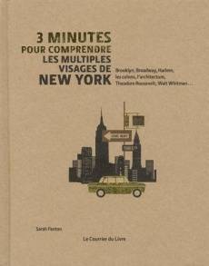 3 minutes pour comprendre les multiples visages de New York, Brooklyn, Broadway, Harlem, les colons, l'architecture, Theodore Roosevelt, Walt Whitman...