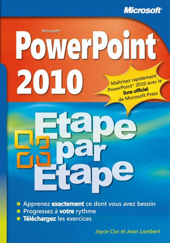 livre powerpoint 2010 tape par tape tape par tape. Black Bedroom Furniture Sets. Home Design Ideas