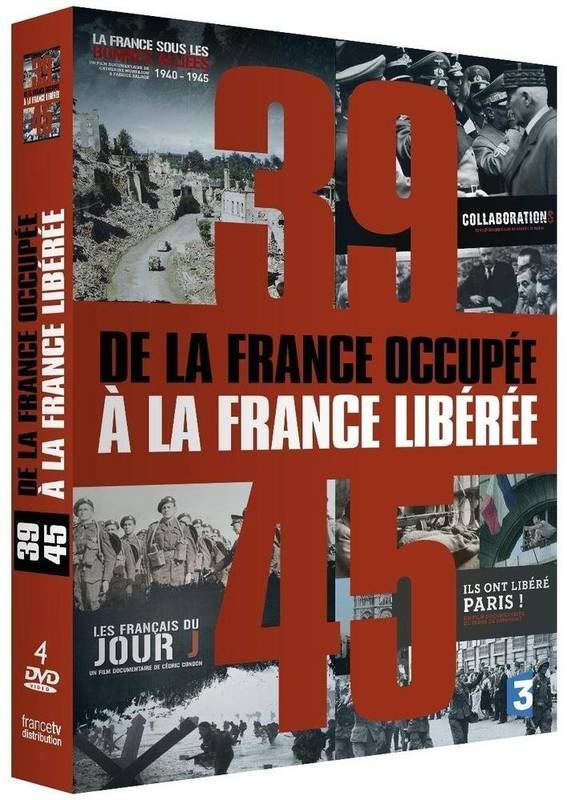 COFFRET 39-45  DE LA FRANCE OCCUPEE A LA