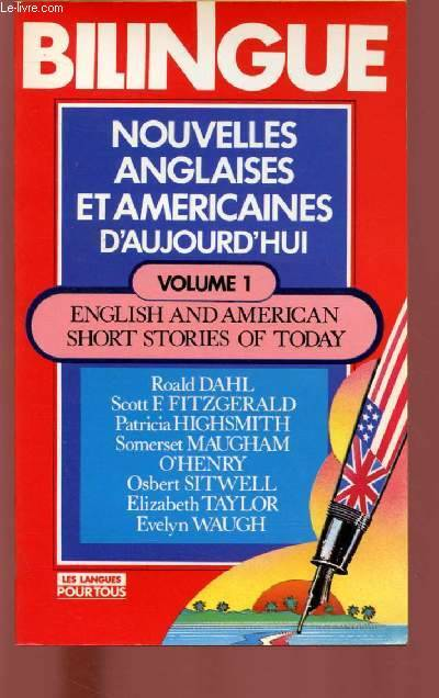 Nouvelles anglaises et américaines d'aujourd'hui., [1], Nouvelles anglaises et am√©ricaines d'aujourd'hui = english and american short stories of today