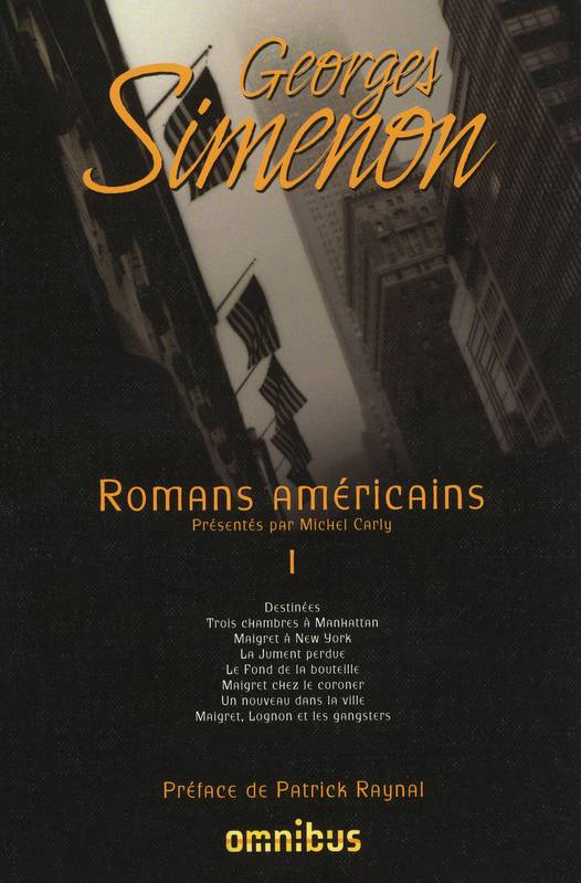 Volume 1, Romans américains - Tome 1