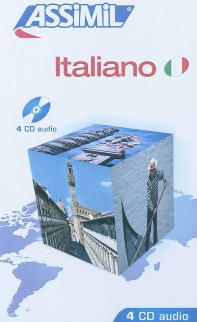 ITALIEN COFFRET 4 CD AUDIO