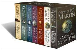 A GAME OF THRONES BOX SET : THE  STORY CONTINUES (ALL 7 VOLUMES) UK EDITION