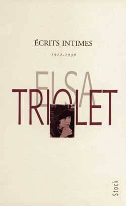 Ecrits intimes 1912-1939, 1912-1939