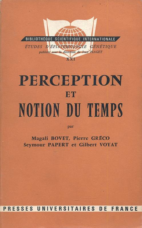 Perception et notion du temps