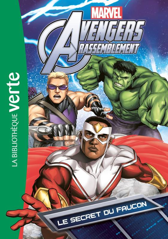 Livre Avengers 07 Le Secret Du Faucon Marvel Hachette