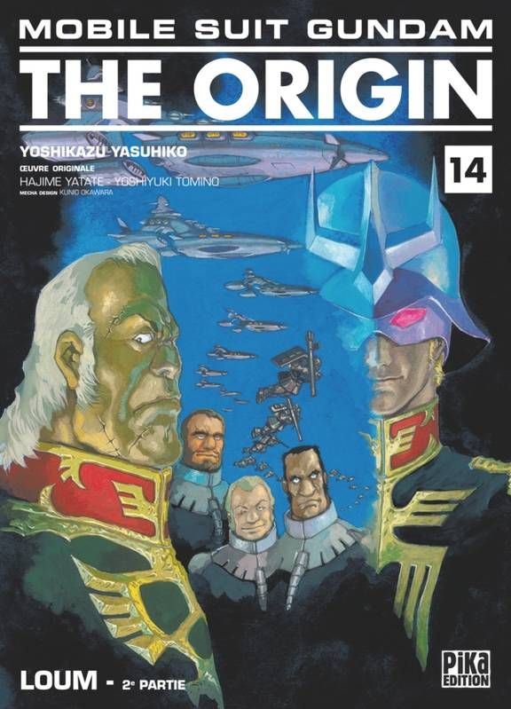 2e partie, Mobile Suit Gundam - The Origin T14, Loum : 2e partie