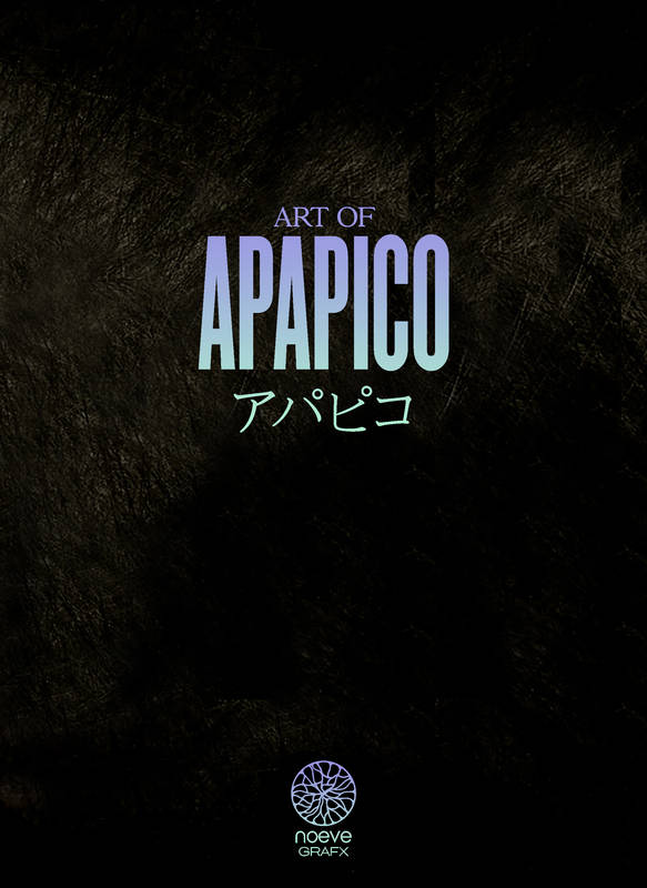 Art of APAPICO - GASHU - COLLECTOR EDITION, Noeve Grafx Illustration Artbook Vol.3