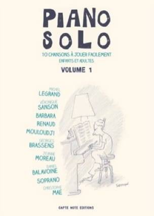 Piano solo volume 1, Piano Solo Facile