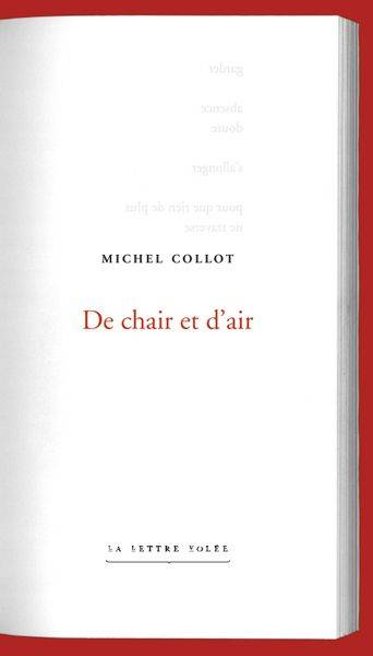 De Chair Et D'Air