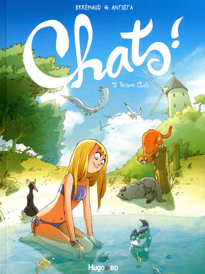 Chats !, TOME 5 , POISSONS CHATS