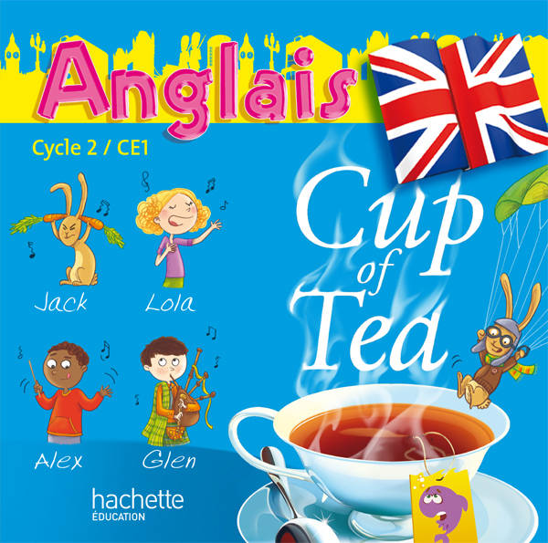 Cup of Tea Anglais CE1 - Double CD audio classe - Ed.2010