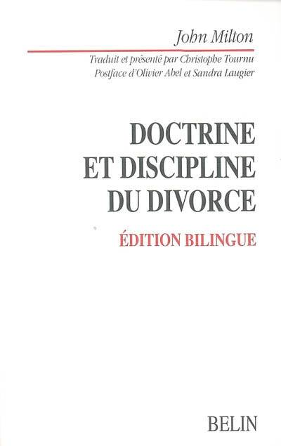 Doctrine et discipline du divorce