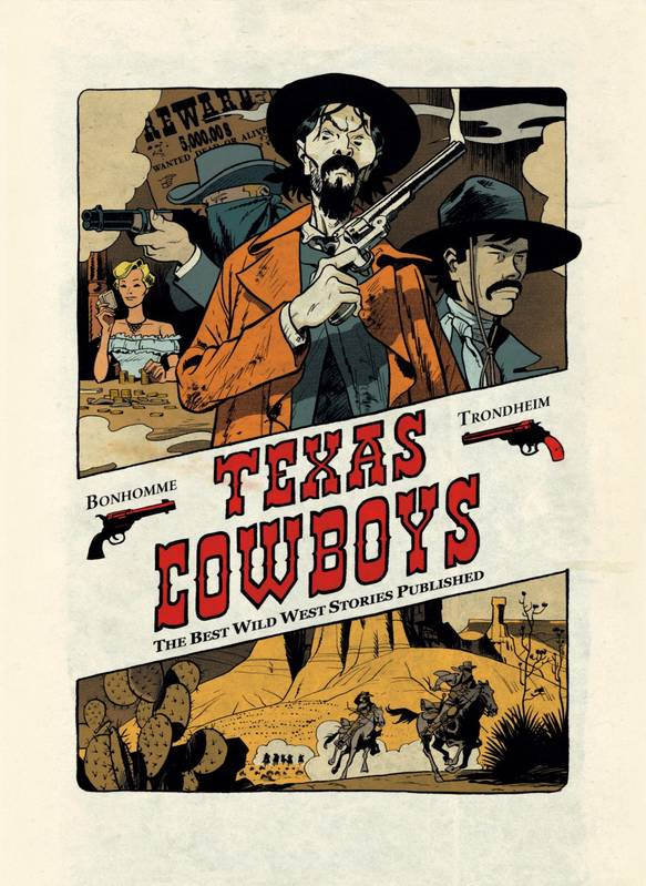Texas cowboys : the best wild west stories published