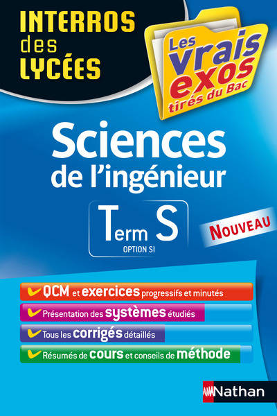 Sciences de l'ingénieur 2015 / terminale S, option SI