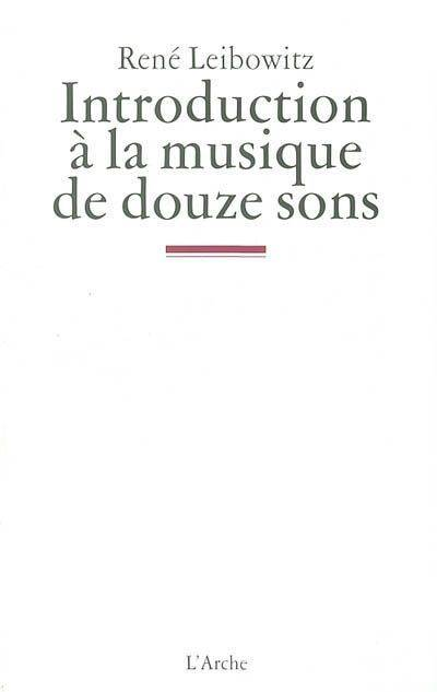 Introduction A La Musique De Douze Sons