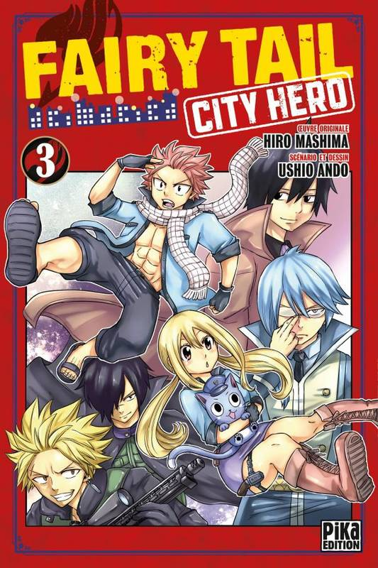 3, Fairy Tail - City Hero T03, City hero