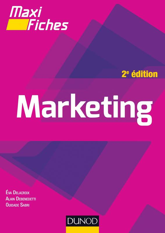 Maxi fiches - Marketing - 2e éd.