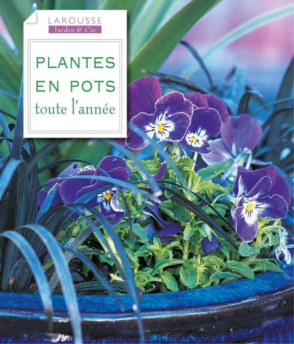 livre plantes en pots toute l 39 ann e collectif larousse jardin cie 9782035857217 le. Black Bedroom Furniture Sets. Home Design Ideas