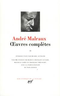 Livre uvres compl tes tome 2 andr malraux gallimard for Miroir des limbes