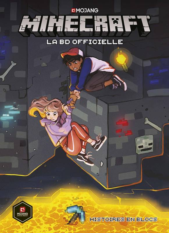 Minecraft, la BD officielle, Minecraft la BD officielle : Histoires en blocs